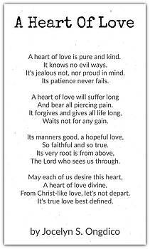 Love Heart by David Norman