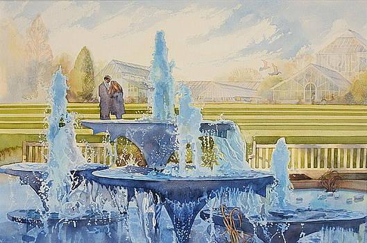 Love in a frozen garden by Gilly Marklew