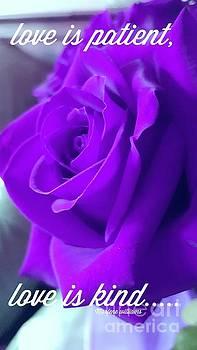 Love is.... by Marlene Williams