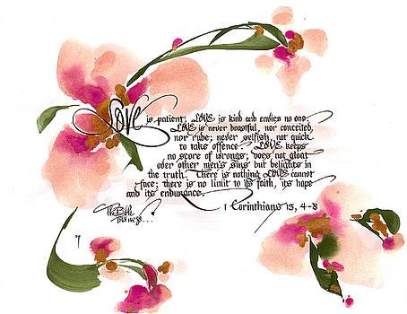 Love is Patient by Darlene Flood