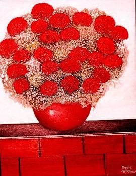 Love is Red by Patricia Velasquez de Mera