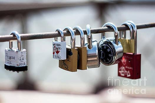 Love Locks by Valerie Morrison