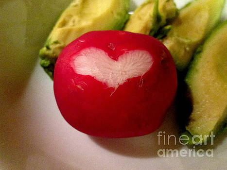 Love my radishes by Marie Neder