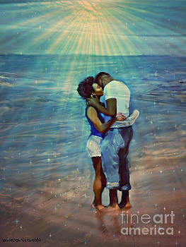 Love On The Beach by Vannetta Ferguson