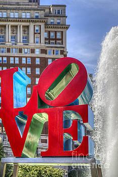 David Zanzinger - Love Park Philadelphia