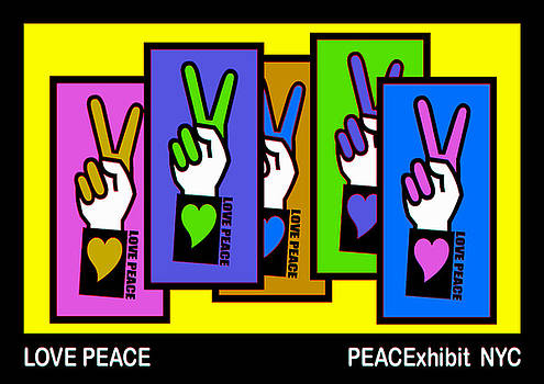 Love Peace by Alexander Aristotle