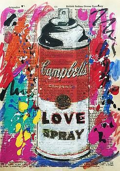 Love Spray Paint by Venus
