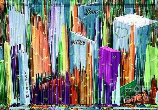 Love the City by Nico Bielow by Nico Bielow