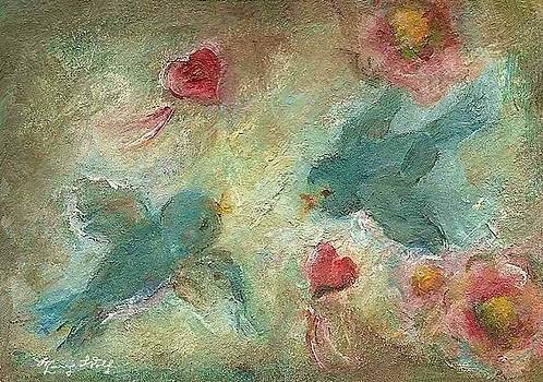 Lovebirds by Mary Wolf