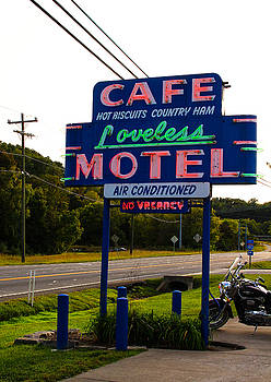 Loveless Cafe Sign by Denise Keegan Frawley