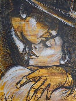 Lovers - Casablanca by Carmen Tyrrell