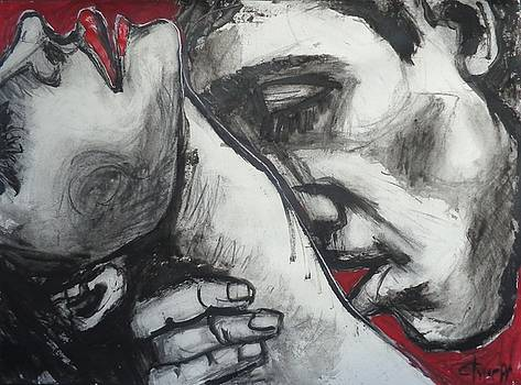 Lovers - Intimacy 2 by Carmen Tyrrell