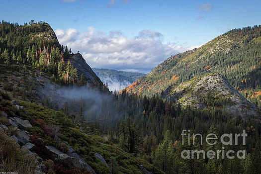 Lovers Leap Autumn by Mitch Shindelbower