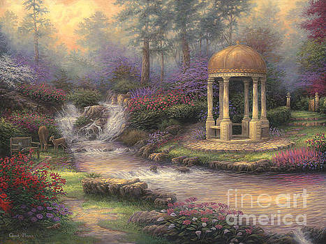 Love's Infinity Garden by Chuck Pinson