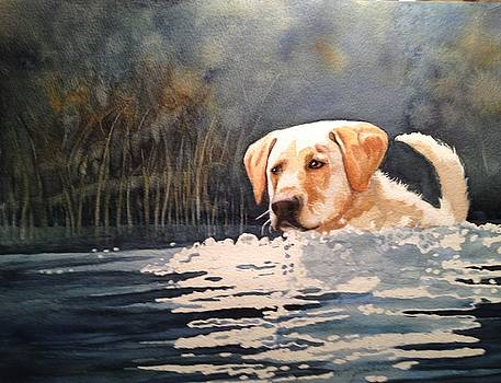 Loves Water by Marilyn Jacobson