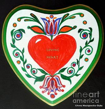 Loving Heart by Anna Folkartanna Maciejewska-Dyba