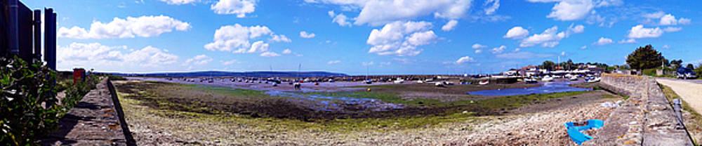 Low Tide At Keyhaven by Peter Stevenson