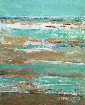 Low Tide II by Betty Pinkston