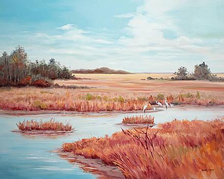 Low Tide Vista by Glenda Cason
