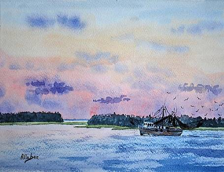 Lowcountry Shrimper by Stanton Allaben