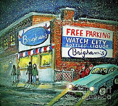 Lower Brigham's by Rita Brown