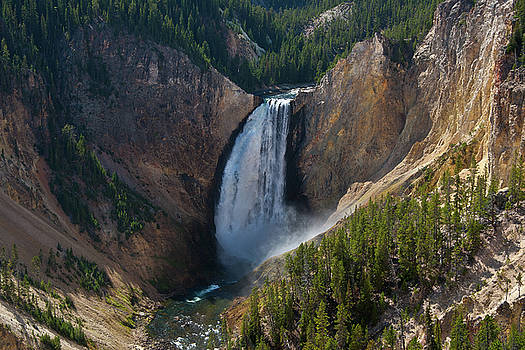 Roger Mullenhour - Lower Falls of Yellowstone River