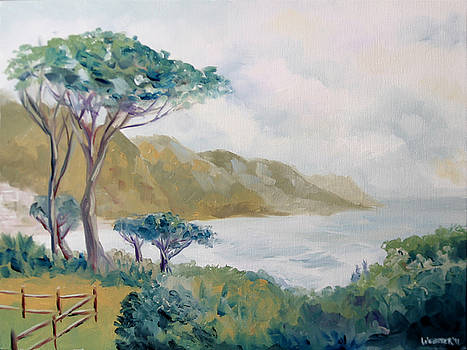 Lower Kloof Road Cape Town South Africa Oil Painting by Mark Webster