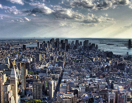 Lower Manhattan From Empire State Building by Joe Paniccia