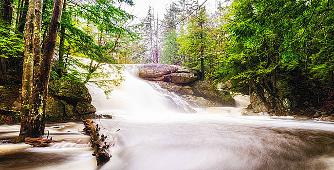 Lower Purgatory Falls 2 by Mike Berry