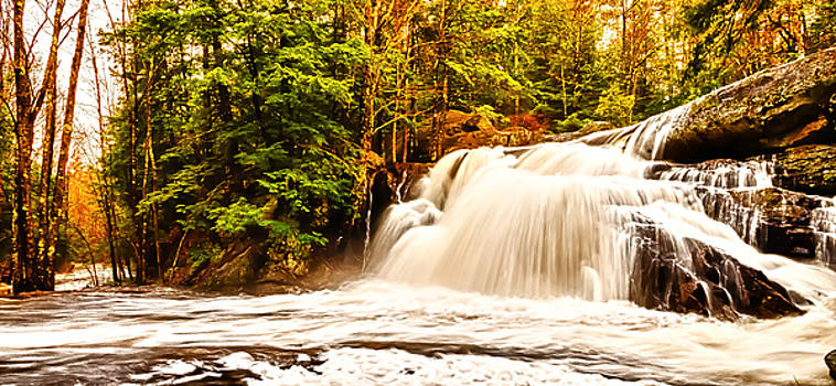 Lower Purgatory Falls by Mike Berry