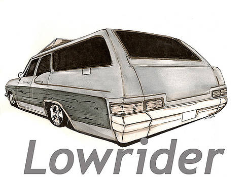Lowrider Wagon by Nathan  Miller