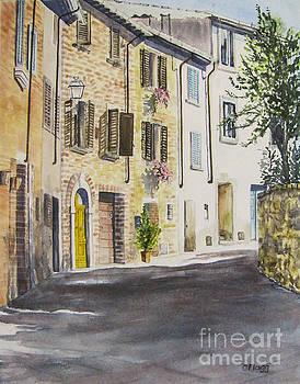 Lucignano, Italy by Carol Flagg