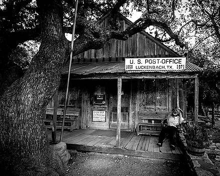 Luckenbach Texas by David Morefield