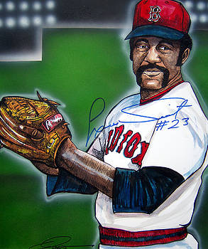 Luis Tiant by Dave Olsen