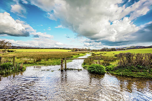 Lukely Brook Isle Of Wight by English Landscapes