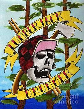 Lumberjack Drummer by Kev G