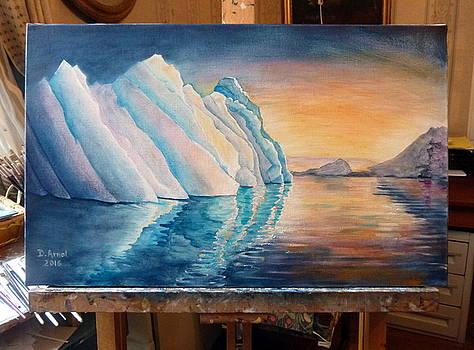 Lumiere Sur Glace by Danielle Arnal