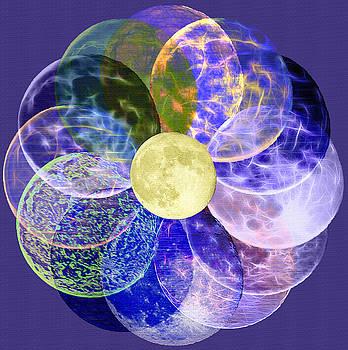 Steve Ohlsen - LunarPlex - Blue Harvest Moon Multiplied