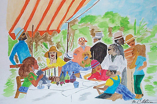 Luncheon on the Park by Michael Chatman