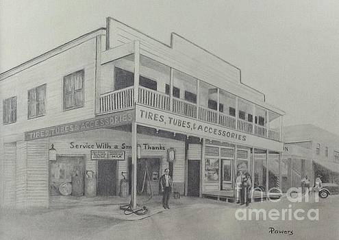 Lundy's General Store  by Mary Lynne Powers