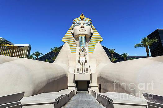 Luxor Casino Egyptian Pharaoh Las Vegas Wide by Eric Evans