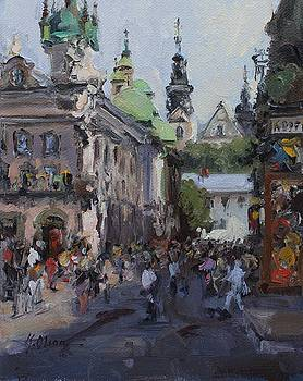 Lviv, Ukraine by Kristen Olson