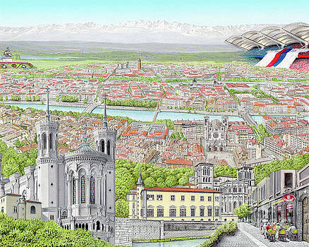 Lyon France by Albert Puskaric