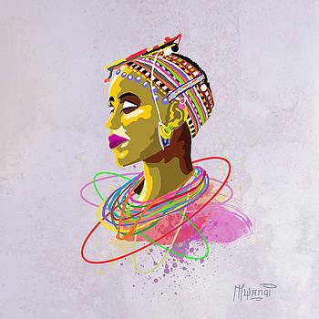 Maasai Beauty by Anthony Mwangi