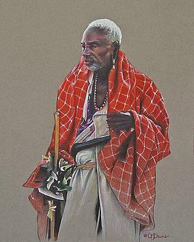 Maasai Mzee by Cindy Davis