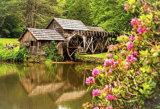 Mabry Mill by Rebecca Hiatt