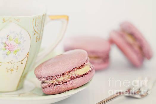 Macarons and Tea by Stephanie Frey