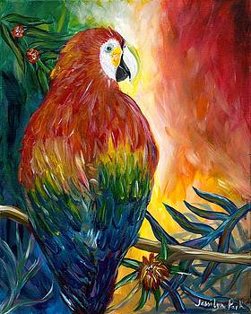 Macaw by Jessilyn Park