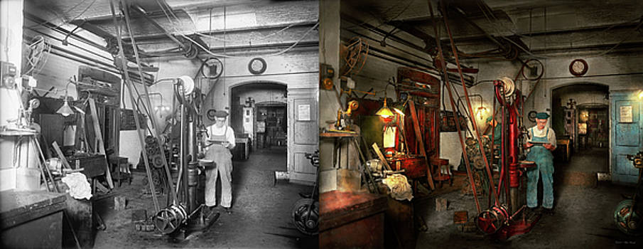 Machinist - Government approved 1919 - Side by Side by Mike Savad
