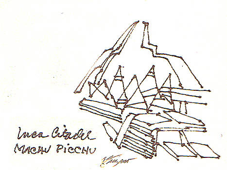 Machu Picchu by Donna Frizano Leonetti